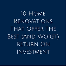 10 Home Renovations
