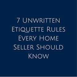 7 Unwritten Etiquette Rules